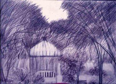 Dibujando buenos aires 1 la lectora provisoria for Vivero el botanico