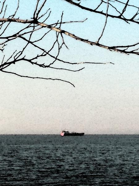 35.barco acuarela