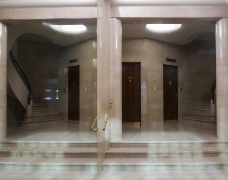 408.hall edificio de Borges